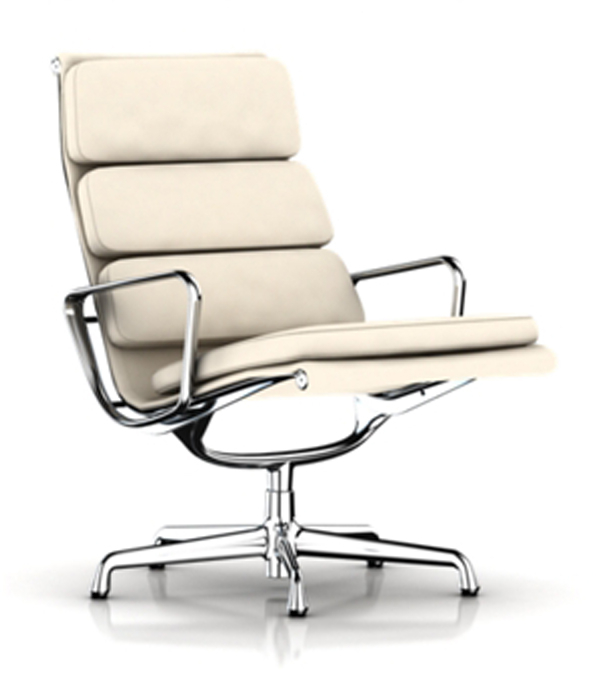 Eames Lounge soft EA433